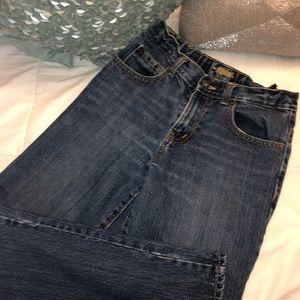 Gently worn boys Old Navy 12 Reg jeans w adj waist